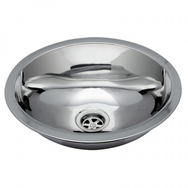 "Oval (13 1/4"" x 10 1/2"") Stainless Steel Sink"